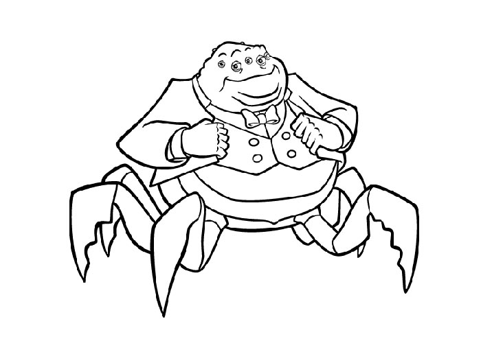 Horrid Henry Peter - Free Colouring Pages
